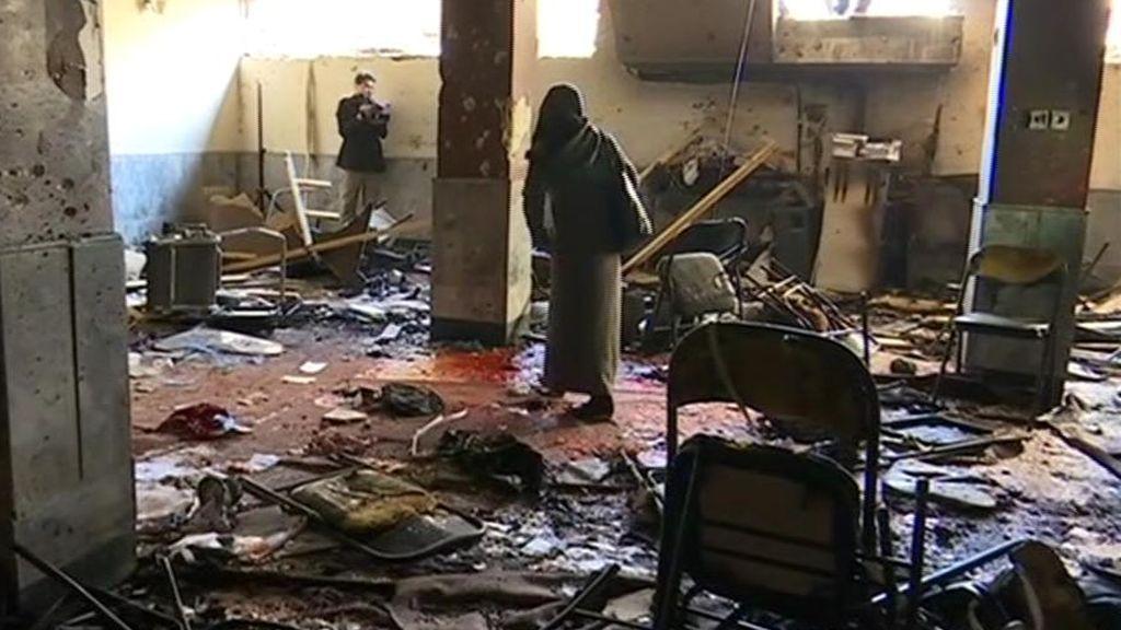 Cuarenta muertos en un atentado en Kabul