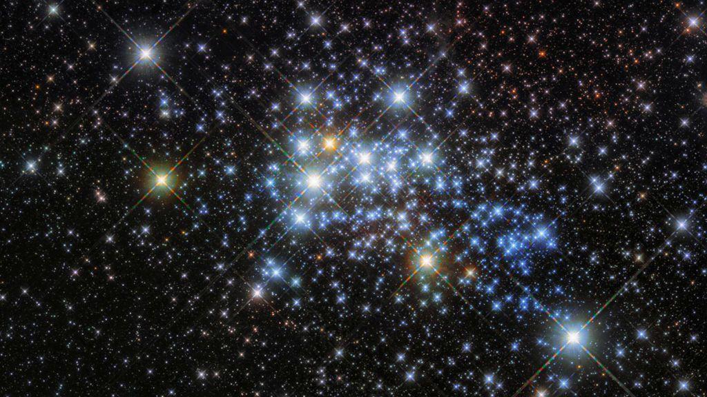 Un joven cúmulo de estrellas conocido como Westerlund 1