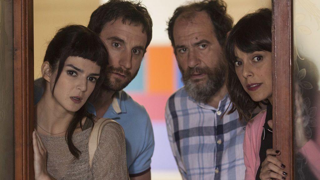 Clara Lago, Dani Rovira, Karra Elejalde y Belén Cuesta, protagonistas de 'Ocho apellidos catalanes'.