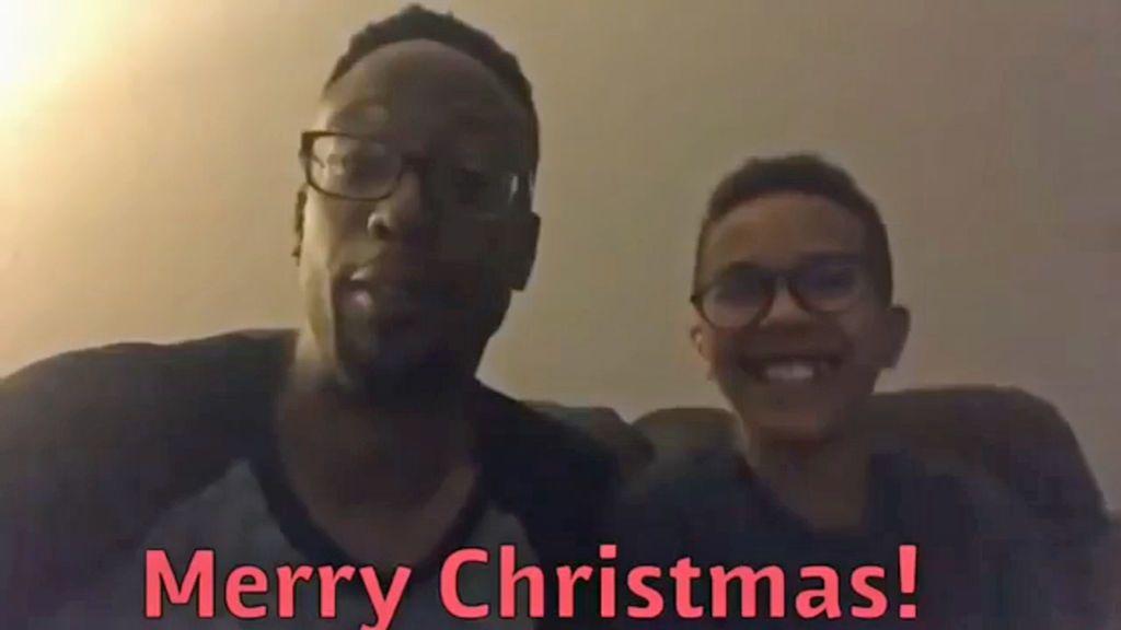 Un padre publica un vídeo cantando villancicos con su hijo y luego asesina a toda su familia