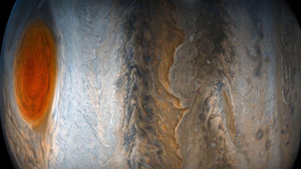 La Gran Mancha Roja de Júpiter