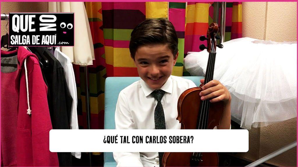 El increíble niño violinista que hará bailar a Sobera y otros momentazos de 'Little Big Show'