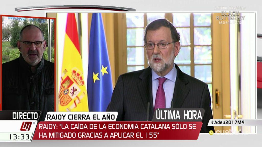 """Losada, del balance del año de Rajoy: """"Los que queríamos autocrítica, nos quedamos con las ganas"""""""