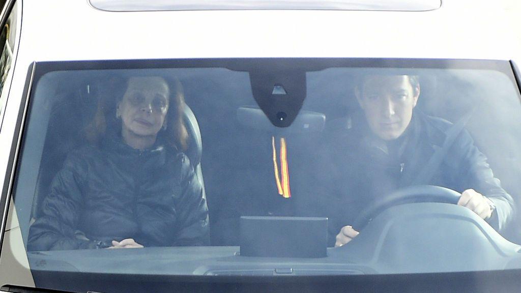 La baronesa de Alacuas también estuvo en el último adiós a Carmen Franco