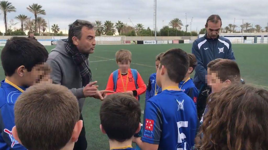 ¡Bravo! El gesto y las palabras del entrenador del CF San Pedro que estos niños jamás olvidarán