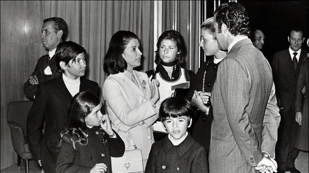 Carmen Franco junto a Carmen Martínez Bordiú