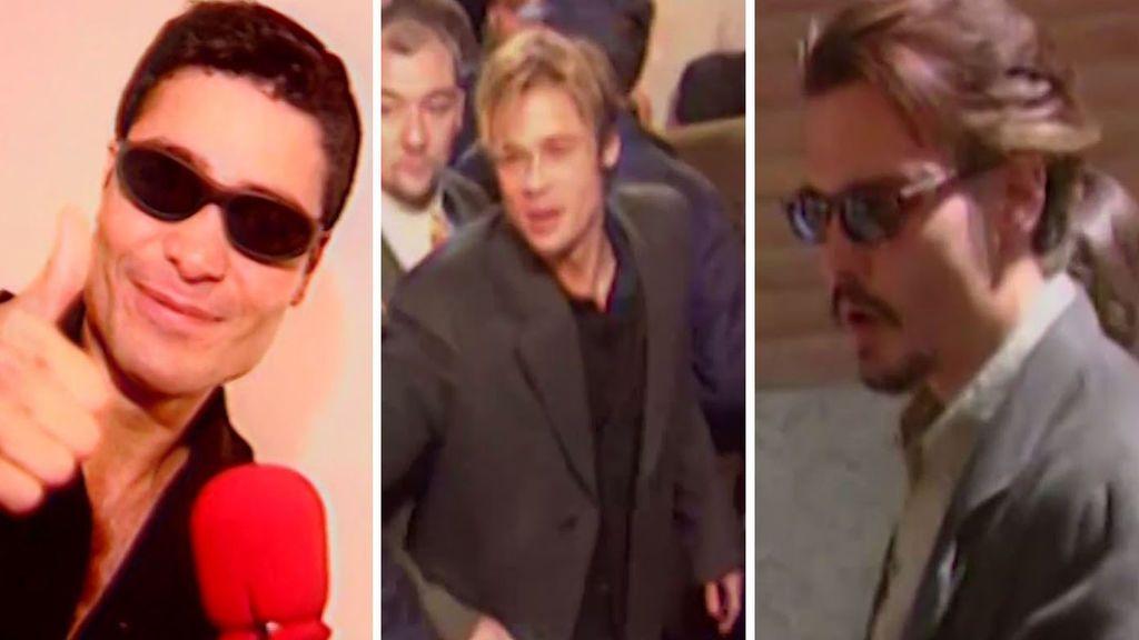 Que PittJohnny Otras Las Pusieron Gafas Se Brad Depp Y Estrellas 0wOPkX8n