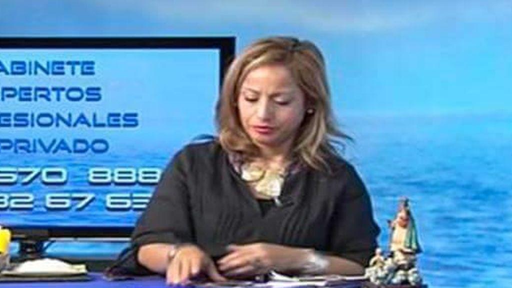 Estrella Paz, vidente del canal TarotVision.