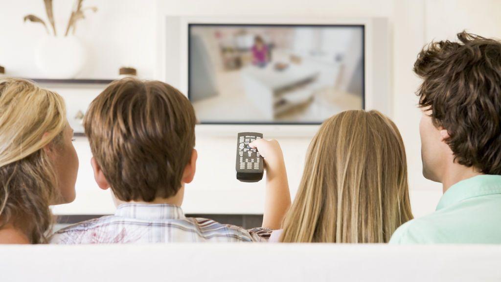 El consumo de televisión crece en 2017 tras cuatro años de descenso.