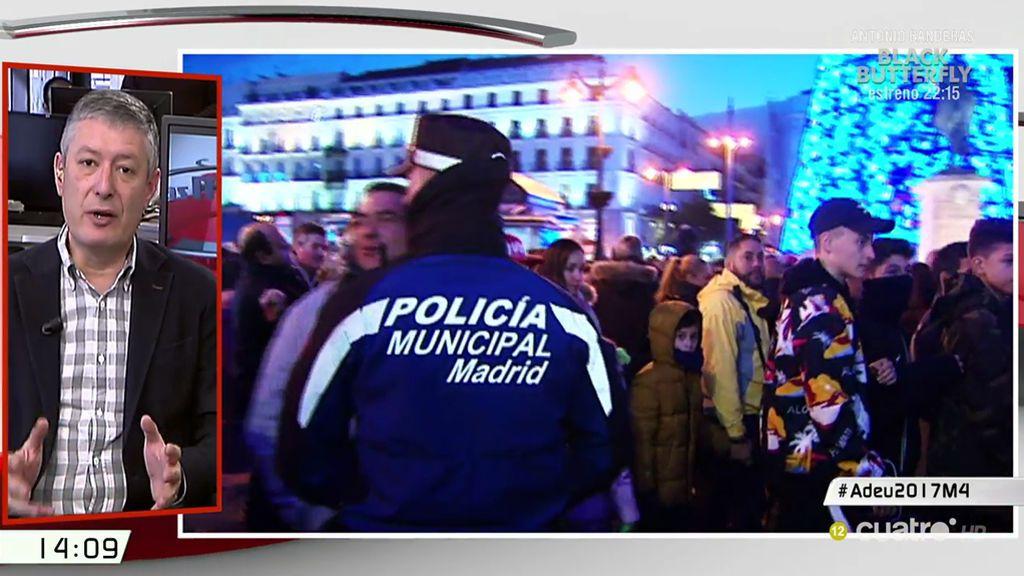 """Benito (Sindicato de Policía): """"Los controles para entrar en la Puerta del Sol van a ser exhaustivos"""""""