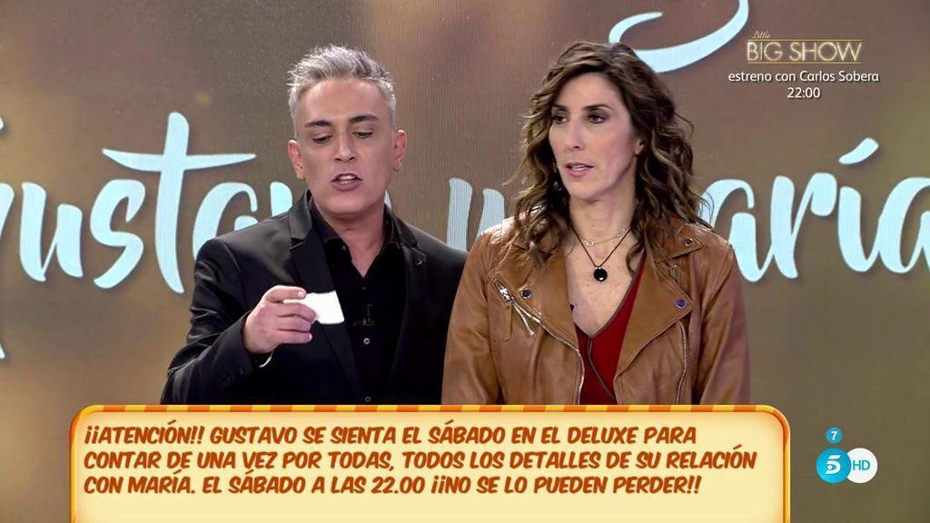 """Kiko Hernández: """"María Lapiedra y Gustavo González ya tienen fecha para irse a vivir juntos"""""""