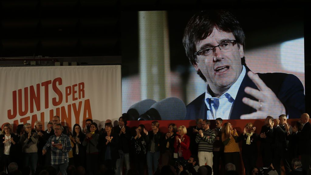 Puigdemont realizará este sábado desde Bruselas el mensaje institucional de fin de año