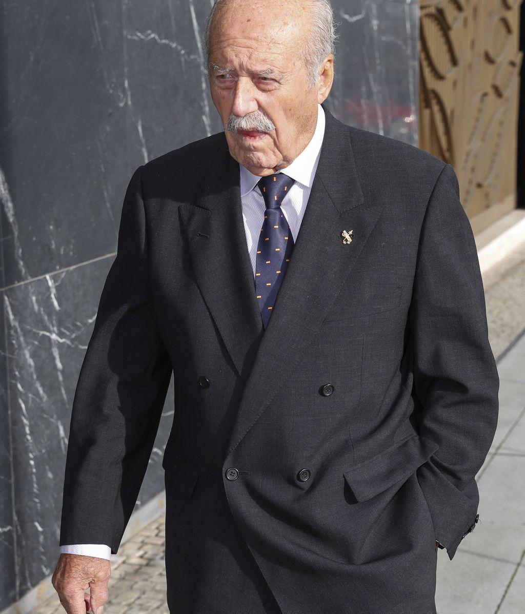 El ex teniente coronel Antonio Tejero