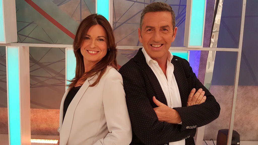 Susana Luquin y Eduardo Lolumo serán los encargados de recibir 2018 en Aragon TV.