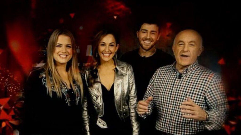 Lucia Regueiro y Rodrigo Vazquez y Xosé Ramón Gayoso recibirán 2018 en TVG.