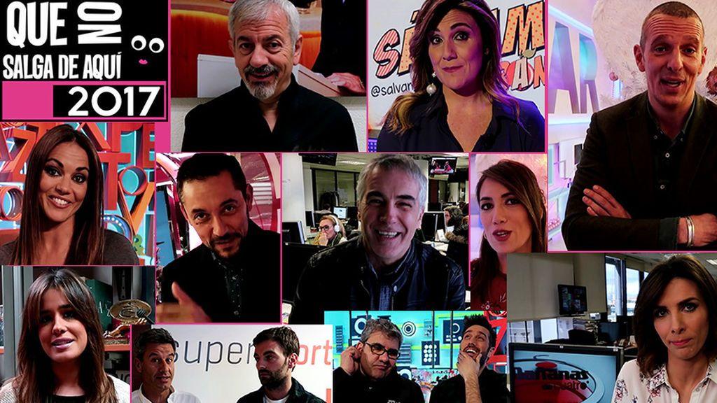 Los famosos de Mediaset eligen lo mejor y lo peor de 2017