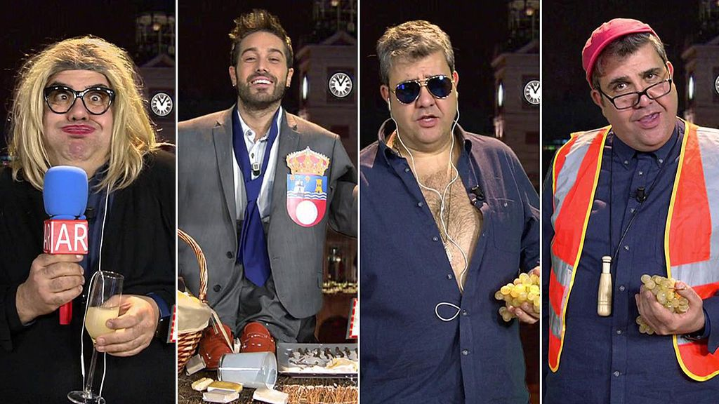 El casting más divertido de los famosos para las campanadas de Mediaset