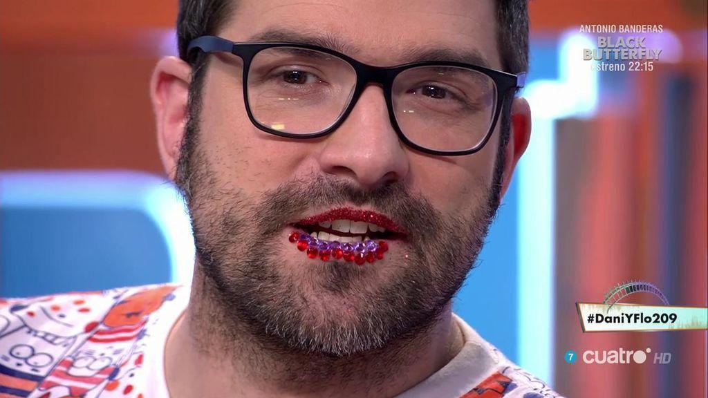 Nacho García se rinde a los labios 'brilli-brilli' y a sus terribles consecuencias