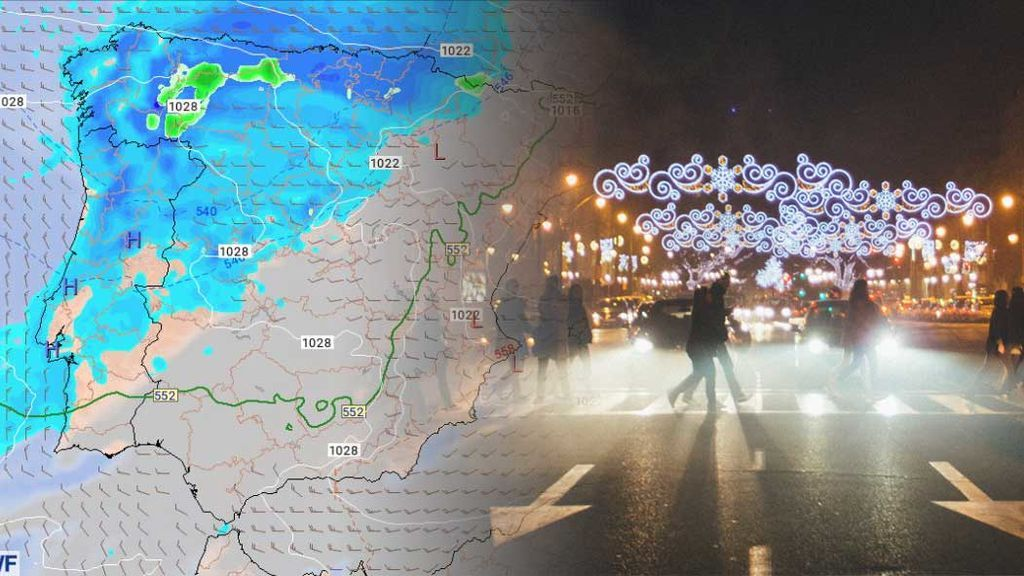 Dan lluvias para Nochevieja: ¿dónde tocará sacar el paraguas?