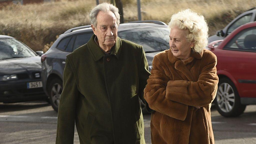 El empresario Juan Miguel Villar Mir fue acompañado por su mujer
