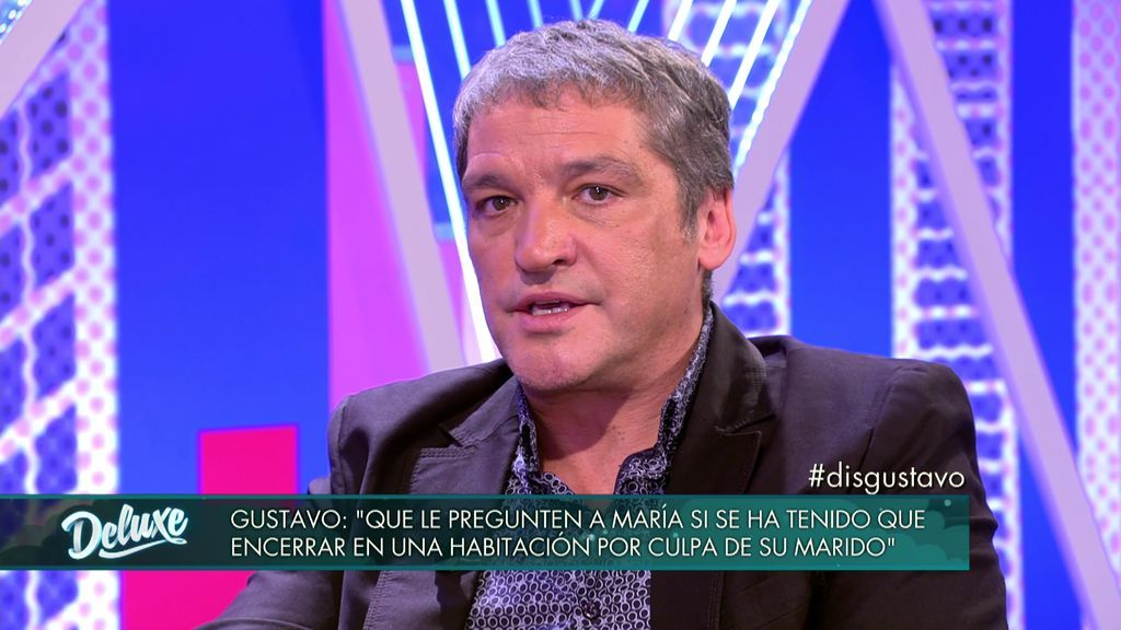 """Gustavo González: """"Si el marido de María se va a hacer un polígrafo que diga si es agresivo"""""""