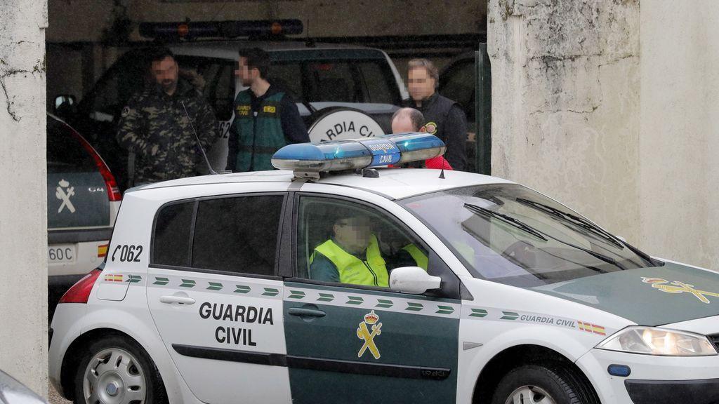 'El Chicle' y su mujer pasan la noche en la Comandancia de la Guardia Civil de A Coruña