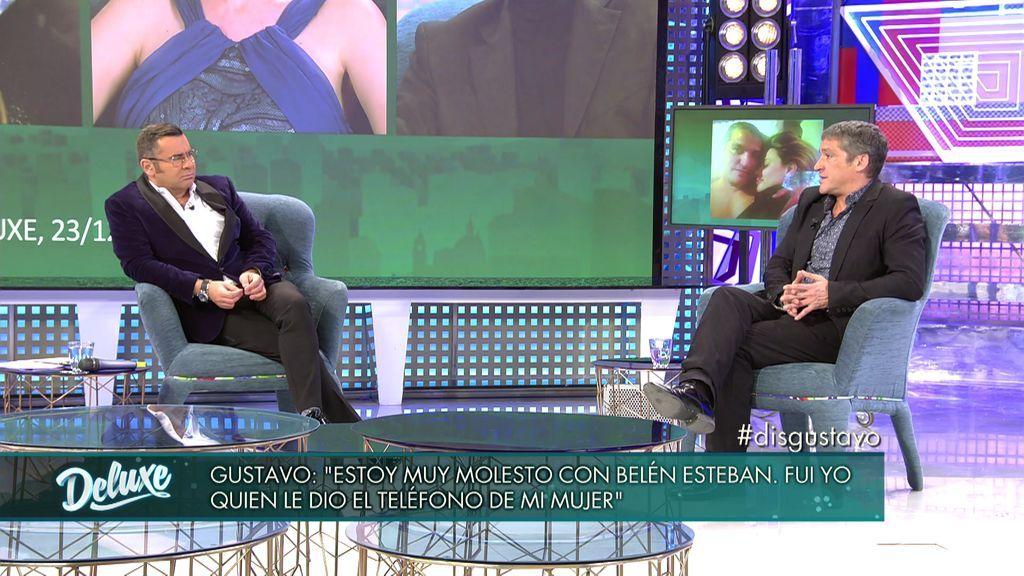 """Gustavo, de Belén Esteban: """"Me ha condenado por infiel, yo lo tendría muy fácil para contestarle"""""""