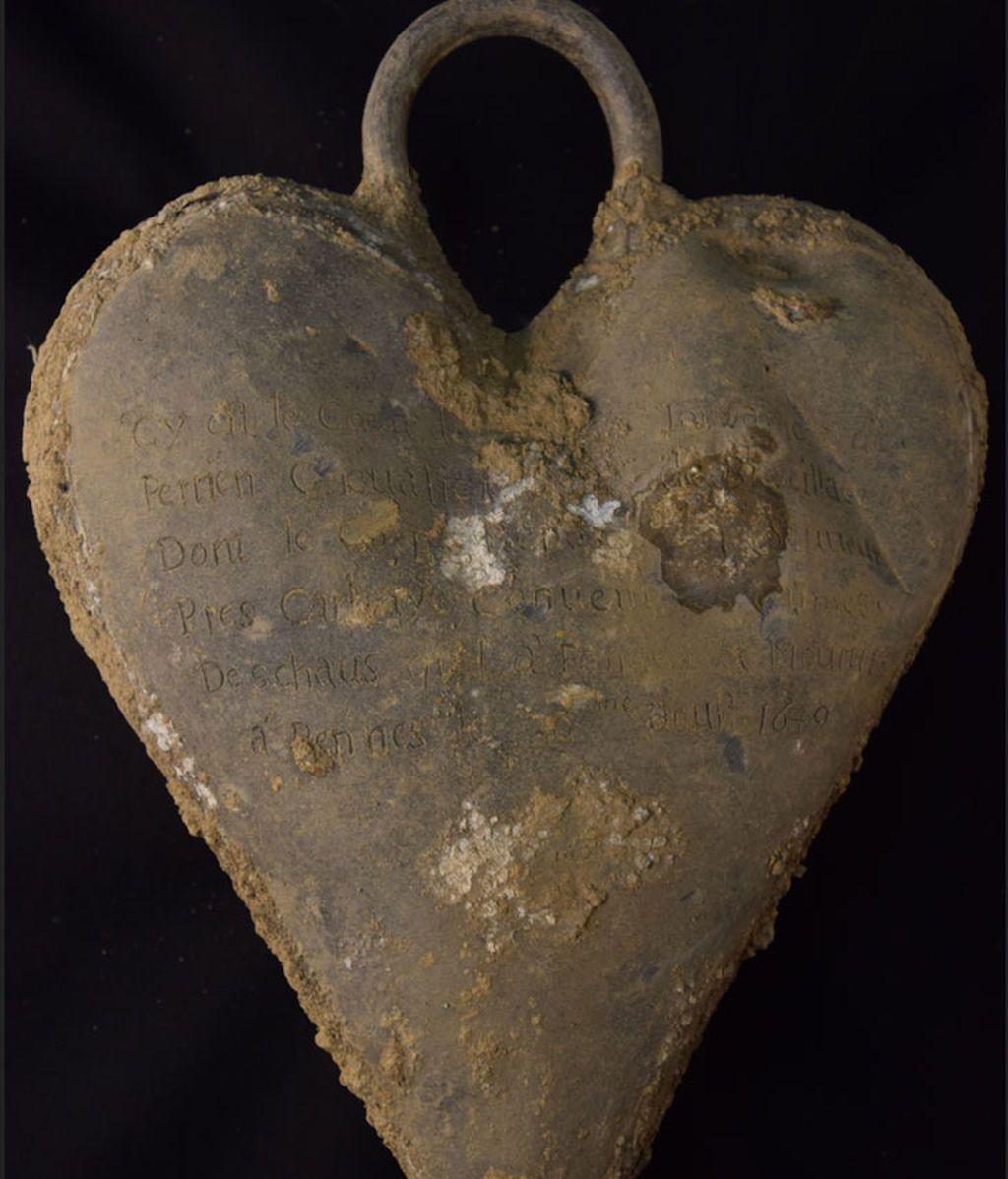 Relicario para el corazón de Toussaint de Perrien