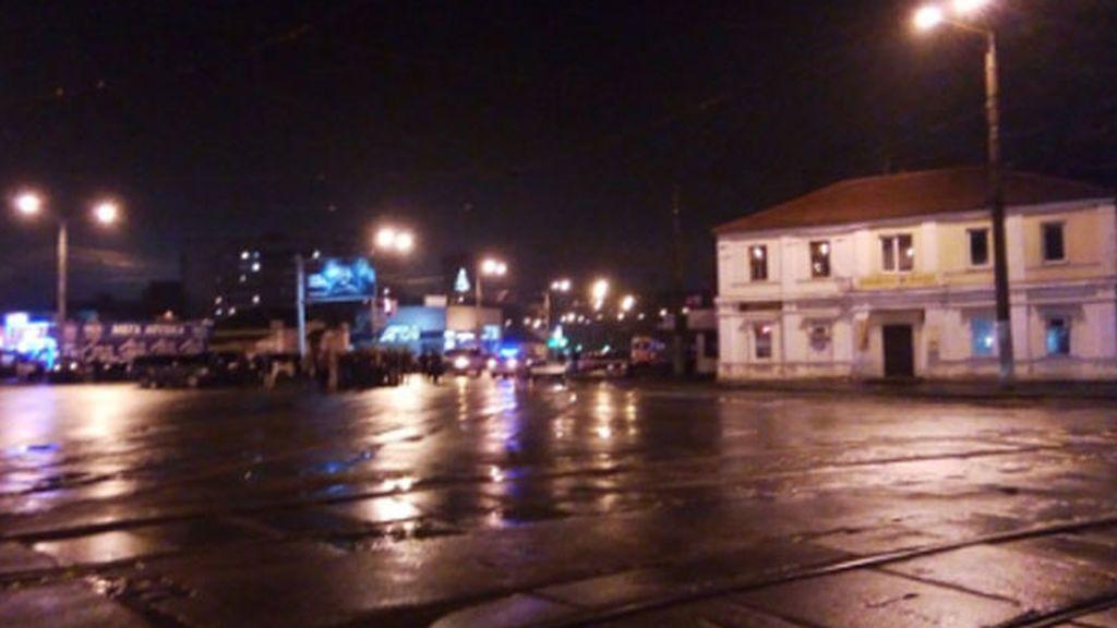 Un hombre secuestra con explosivos una oficina de correos de la ciudad ucraniana de Jarkov