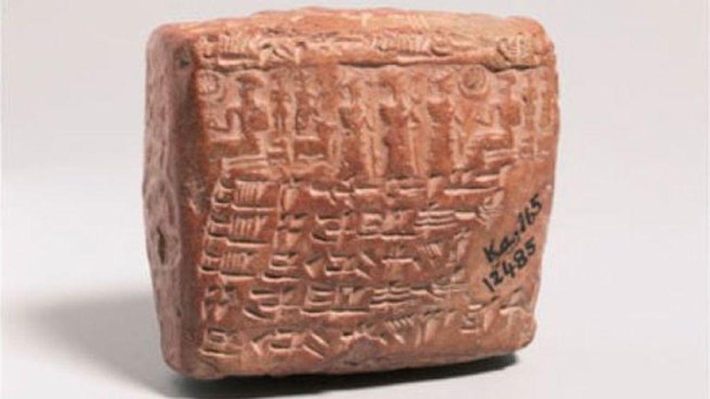 Tablilla asiria con el primer acuerdo prenupcial conocido