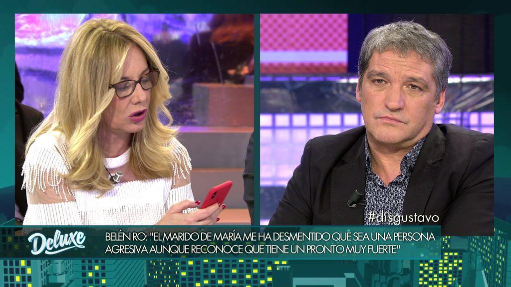 """Belén Ro, a Gustavo: """"El abogado de Mark está grabando el programa para denunciarte"""""""
