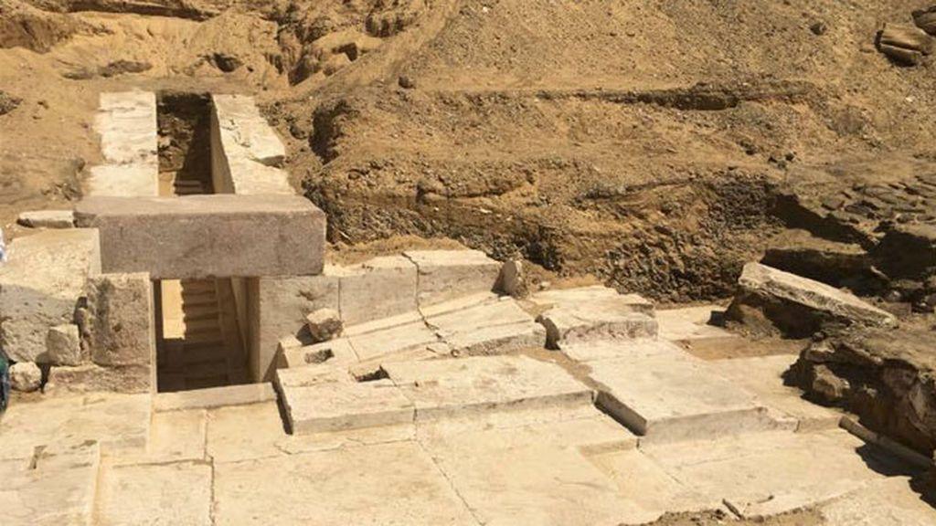 Nueva pirámide descubierta en Egipto