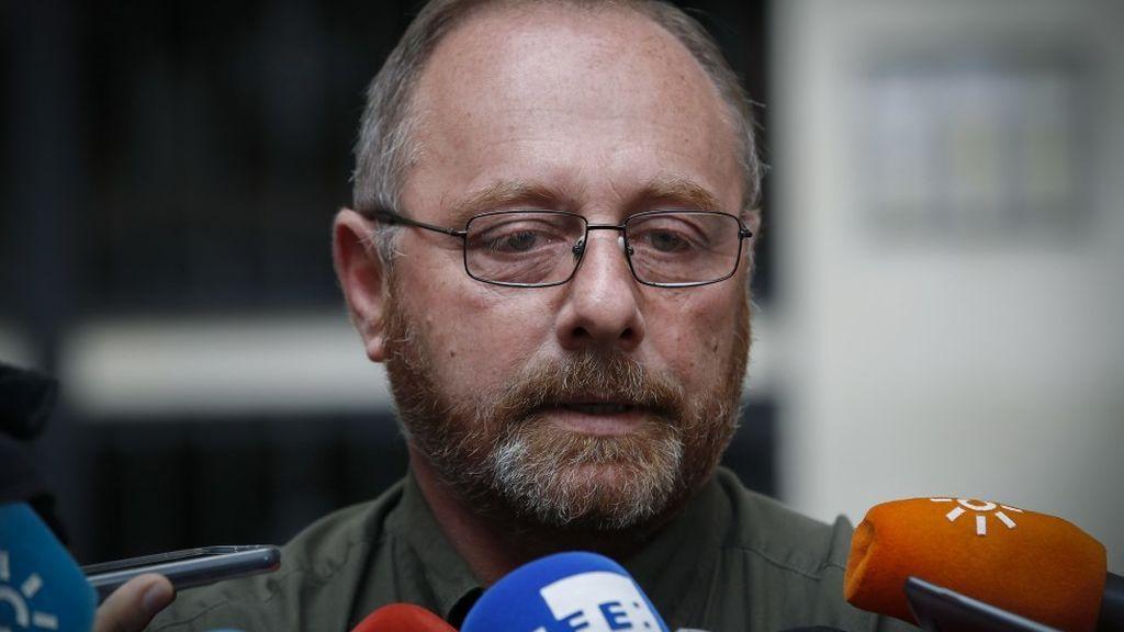 """El padre de Marta del Castillo traslada el pésame a la familia de Quer: """"Trágico desenlace pero ya pueden descansar"""""""
