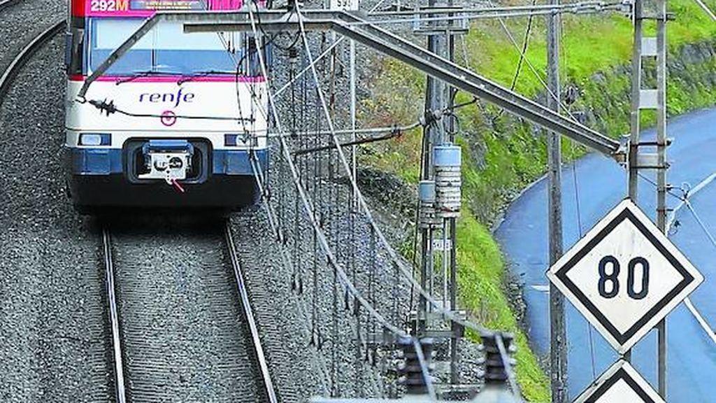 Fallece una joven de 18 años tras ser arrollada por un tren en Guipúzcoa