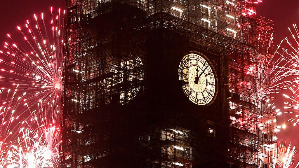 Londres da la bienvenida a 2018