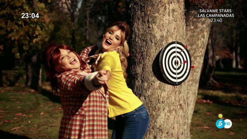 'Las flechas del amor' de Alba Carrillo y Karina