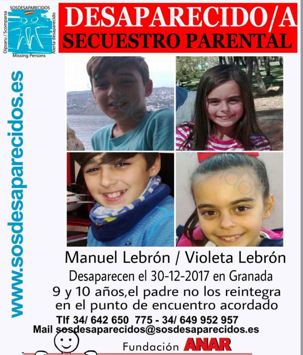 Buscan a dos menores en Sevilla después de que el padre no los entregue en el punto de encuentro