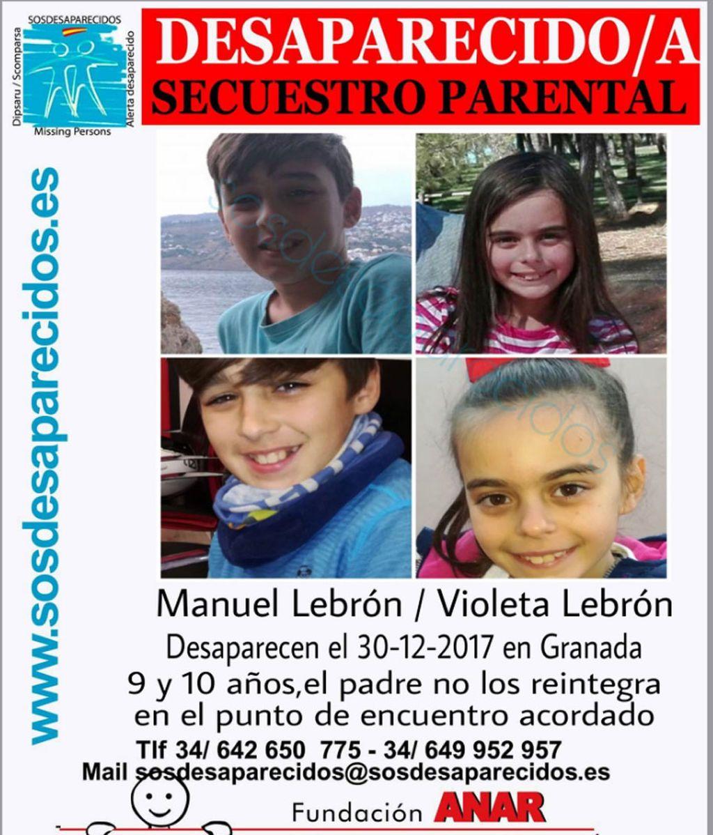 Buscan a dos menores en Sevilla después de que el padre no los entregara en el punto de encuentro