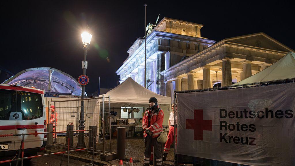 Varios detenidos por agresión sexual en la celebración de Año Nuevo en Berlín