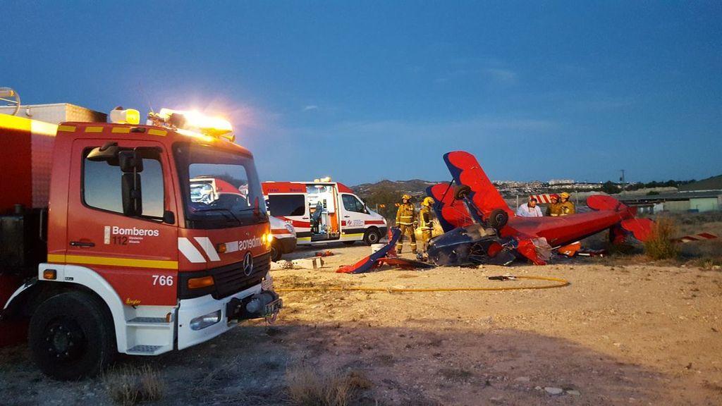 Fallece el piloto del ultraligero herido al chocar contra un helicóptero que volvía del incendio de Culla (Castellón)