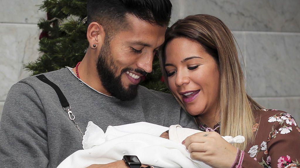 Tamara Gorro y su bebé: primera foto solos, cara a cara y con extra de ternura