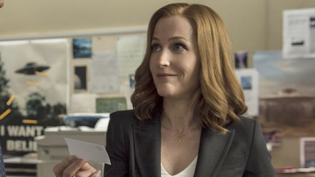 Gillian Anderson interpreta a Dana Scully en 'Expediente X'.