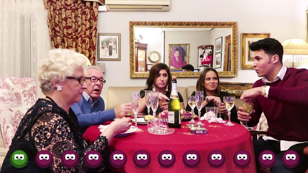 Así vivieron Gloria Camila y Kiko la Nochevieja ¡'Como yo te amo', 2018! (1/2)