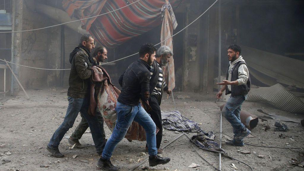 Más de 10.000 civiles murieron por la guerra siria en 2017