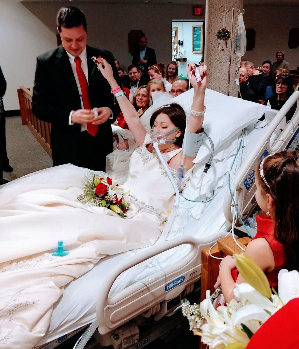 Boda en el hospital