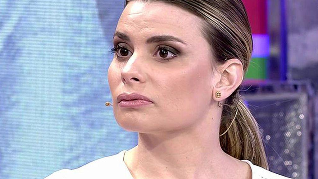 """María Lapiedra se disculpa con Gustavo: """"Sé que me he pasado, pero le amo"""""""