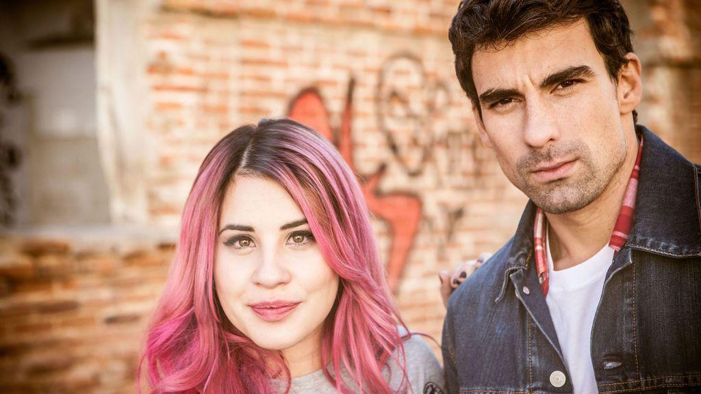 Lucía Gil (Lana) y Christian Sánchez (André), protagonistas de 'Yo quisiera'.