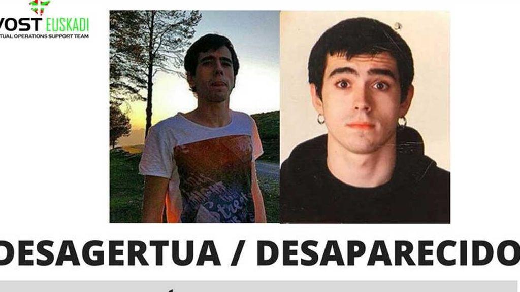 Dejan de buscar al joven desaparecido en el monte Gorbea tras hallar su cartera en Legutiano