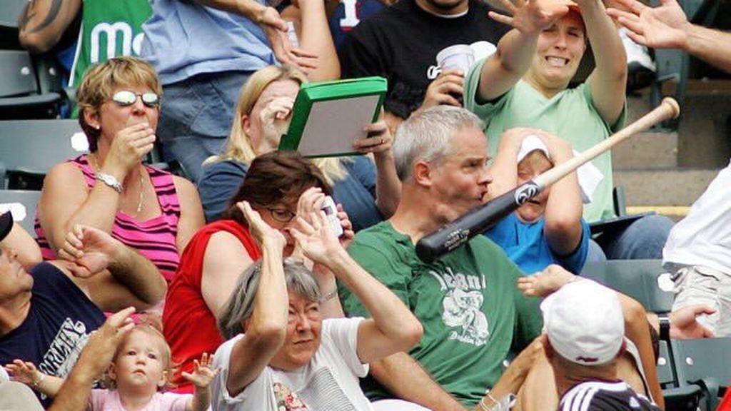 Una sola fotografía de un partido de baseball se convierte en fuente inagotable de memes