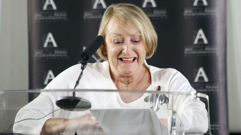 Yvonne Blake, la presidenta de la Academia de Cine, ingresada por un ictus